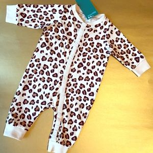 H&M Baby girl leopal cotton body suits